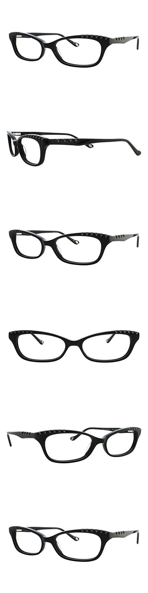 Lulu Guinness L882 Womens Eyeglass Frames - Black