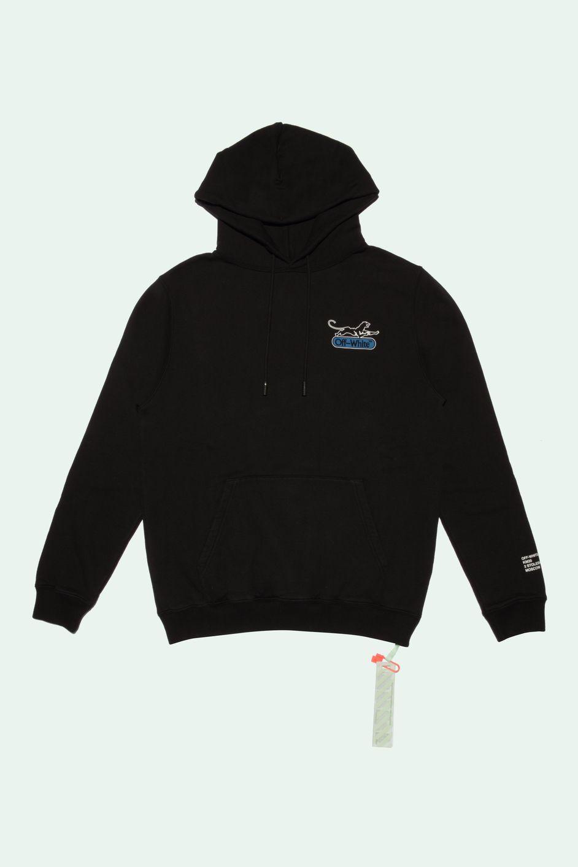 Black Hoodie Off White Tm Nixxboi White Hooded Sweatshirt Sweatshirts Hooded Sweatshirts [ 1413 x 942 Pixel ]