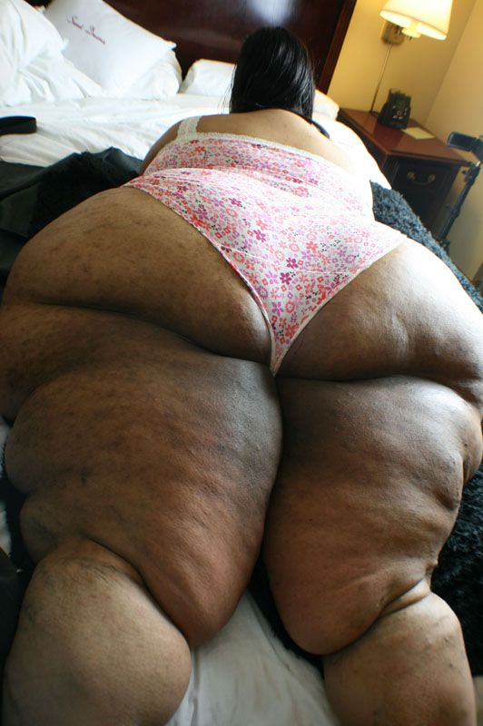 Omg what a ssbbw black ass