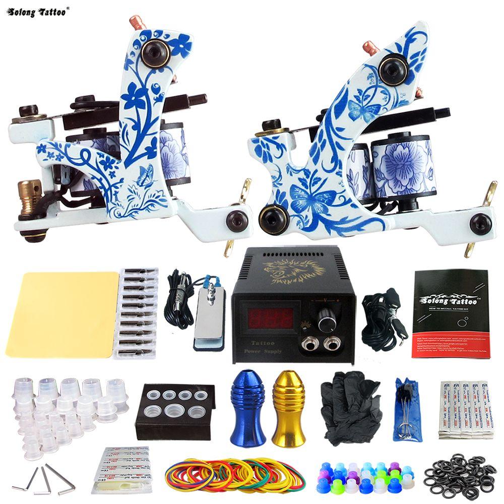 Nose piercing gun kit  Solong Tattoo Pro Tattoo Kit  Rorary Tattoo Machine Gun Power
