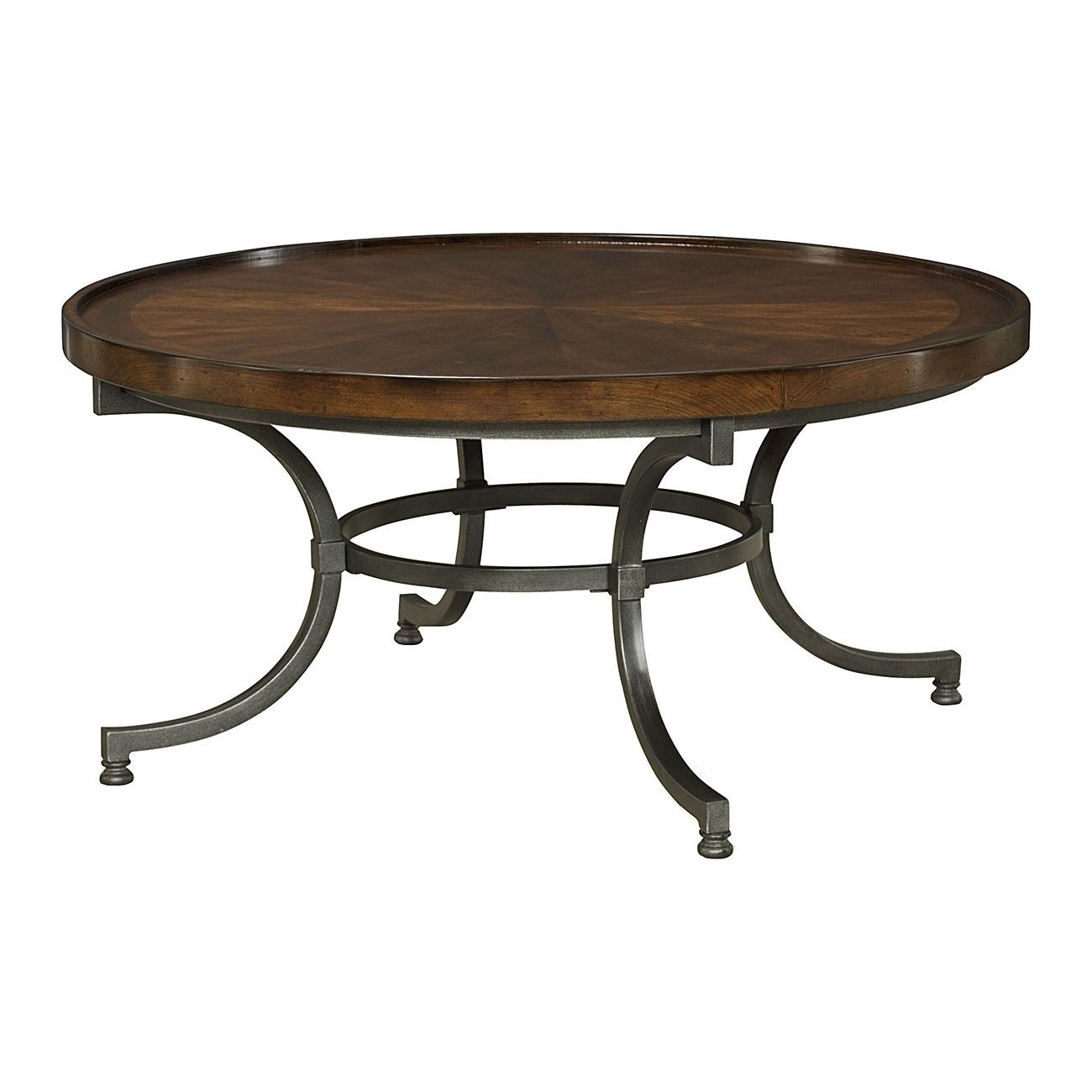 Hammary Barrow Collection Round Cocktail Table Round Coffee Table Round Cocktail Tables Coffee Table [ 1300 x 1300 Pixel ]