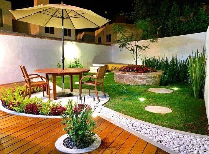 "Photo of Backyard Landscaping Designs – Mi Libro De Ideas on Instagram ""Ideas de Patios muy modernos 👏 …"
