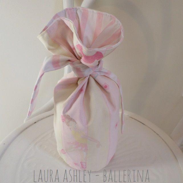 Ballerina Door Stop Using Laura Ashley Vintage Cotton Fabric. $10 #Laura  Ashley #nursery