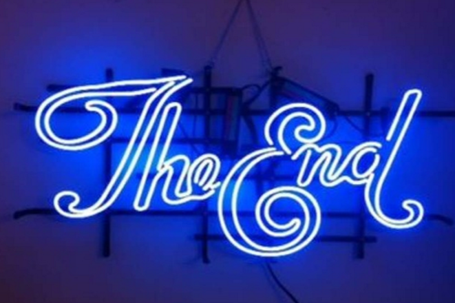 The End Neon Sign Neon Signs Neon Neon Aesthetic