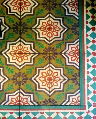 Pretty Tile Floor Adorning Bouchon Bakery Floor Colors Pinterest