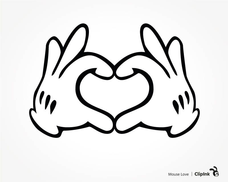 Download Image result for disney love clip art | Mickey mouse ...