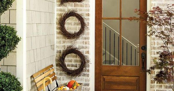 Liked on Pinterest 21 Chic Halloween Decor Ideas to Elevate Your - halloween house decorating ideas