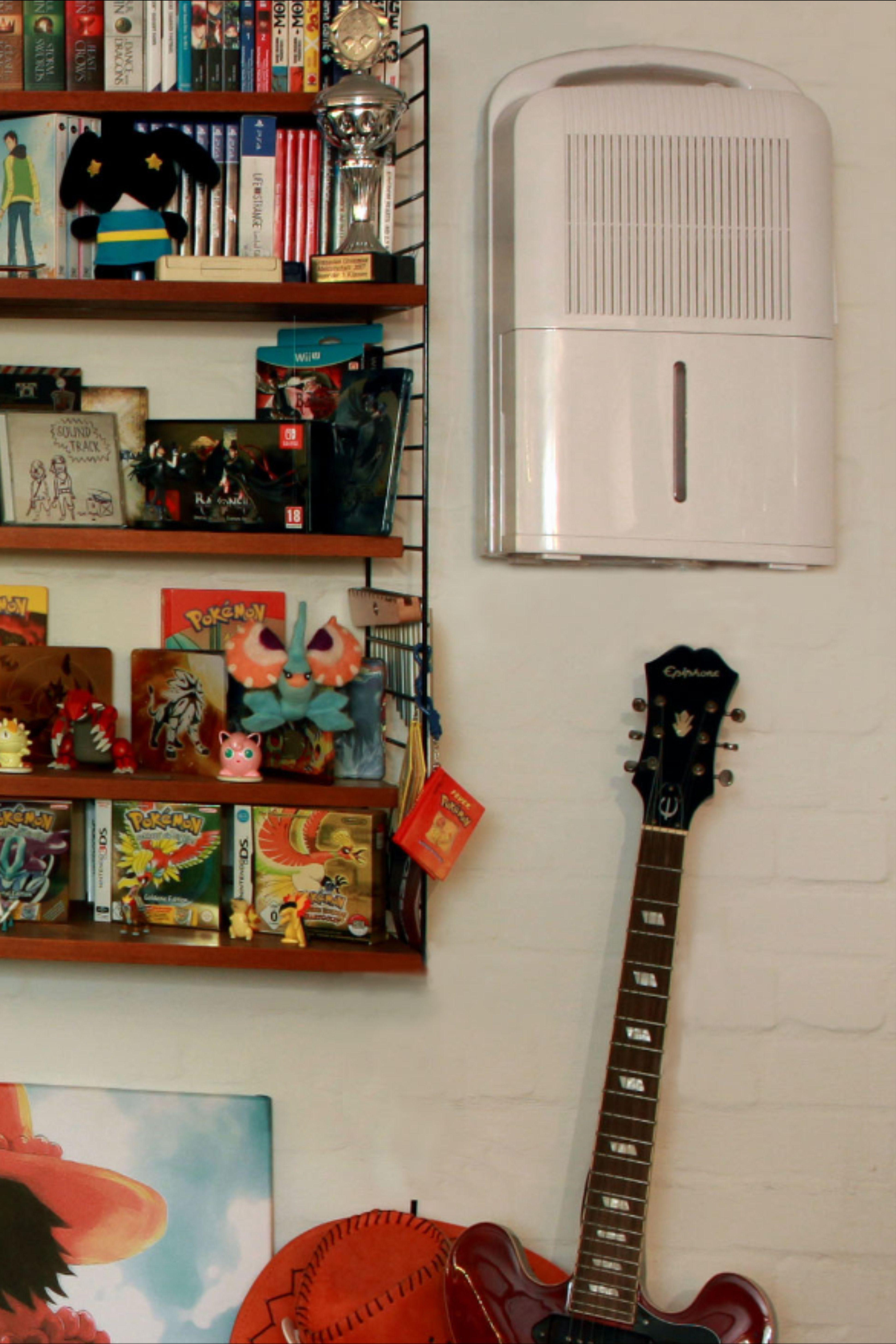 Der Luftentfeuchter Steht Nicht Auf Dem Boden Im Weg Herum Sondern Wird Platzsparend An Der Wand Montiert Mit Bildern Luftentfeuchter Wande Luft