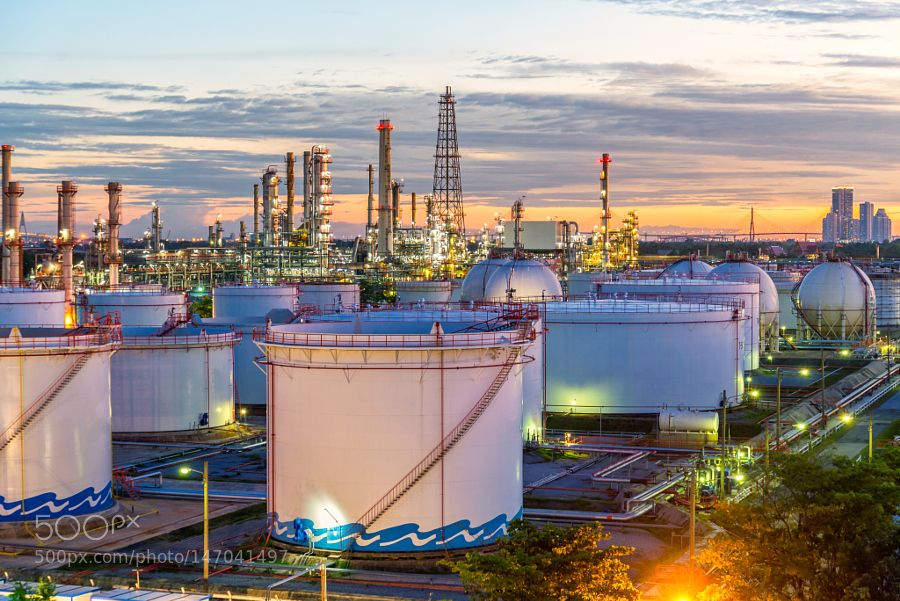 Fotos perfectas gas industry oil and gas refinery