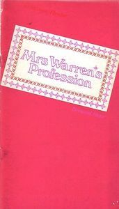 Mrs Warren's Profession Old Vic Theatre Programme 1970 with Coral Browne Ref.586