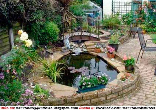 diseÑo de jardines acuÁtico : terrazas y jardines: fotos de