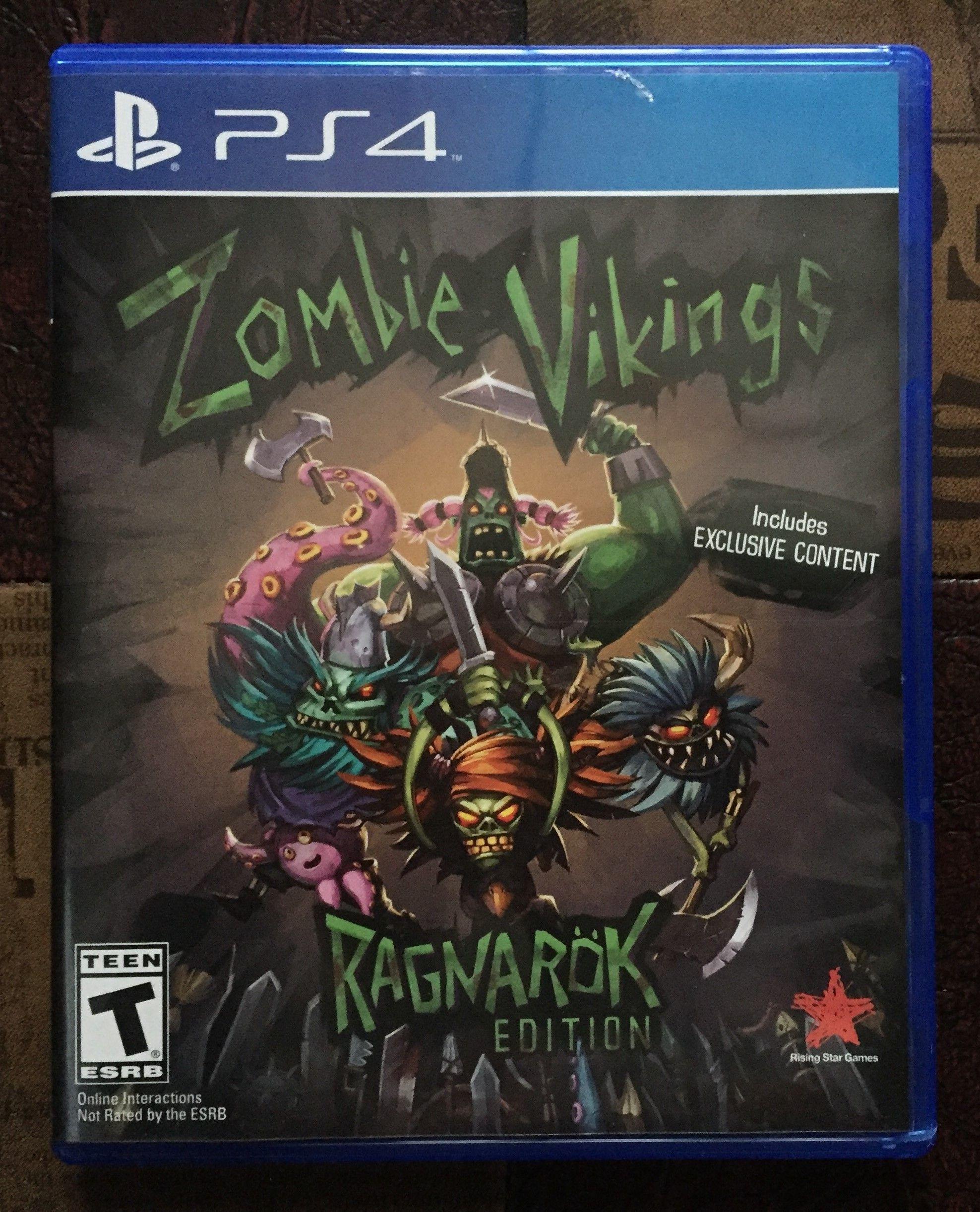 Zombie Vikings Ragnarok Edition PS4 Ps4 games