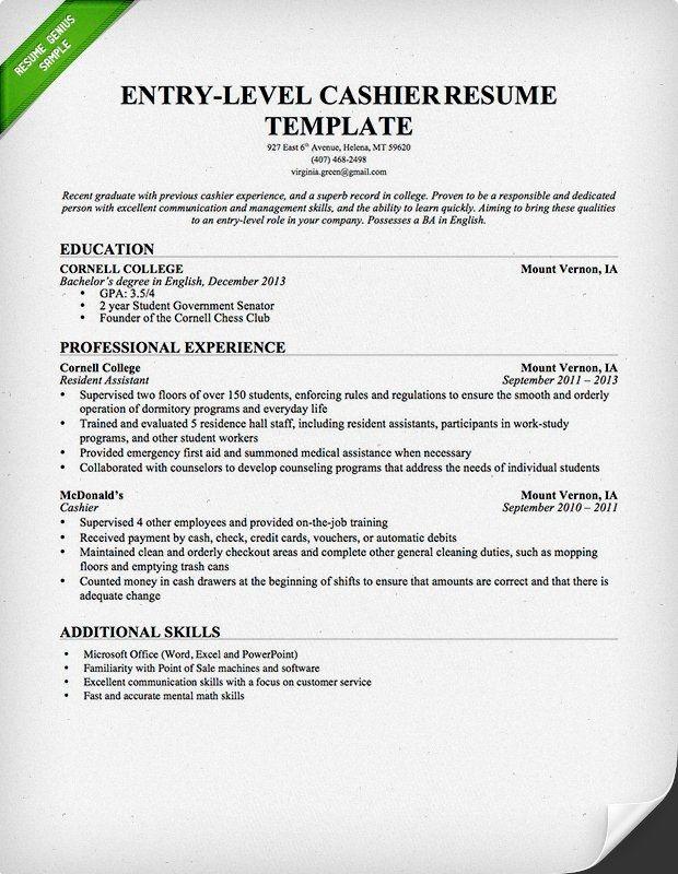 entry level resume | jobs by Shik Sharma | Pinterest