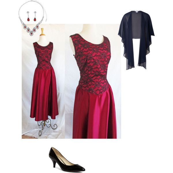 Ravishing in Red by stefshiz on Polyvore featuring Brooks Brothers, BERRICLE and Chesca