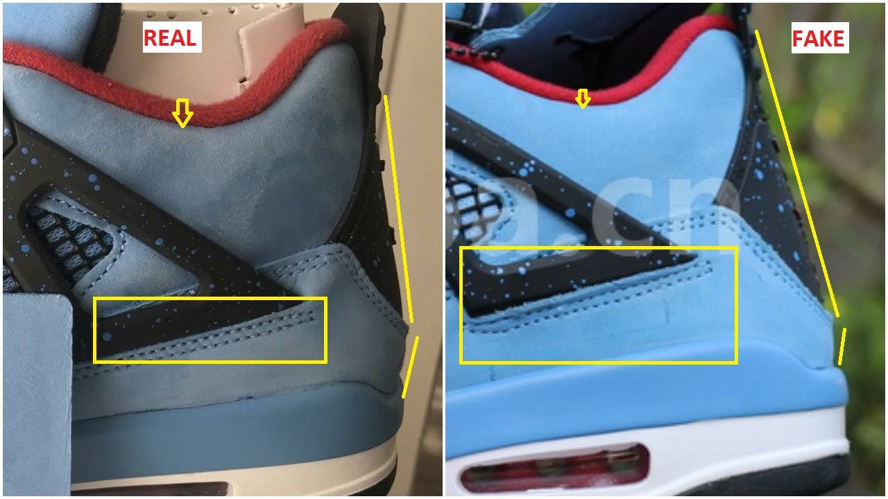 innovative design 205e7 3d1ce Fake Air Jordan 4 Raptor Spotted-Quick Ways To Identify It in 2019   Don t  Get got   Jordans, Air jordans, Jordan 4