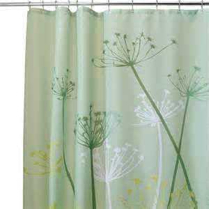 Image Detail For Interdesign Thistle Fabric Shower Curtain