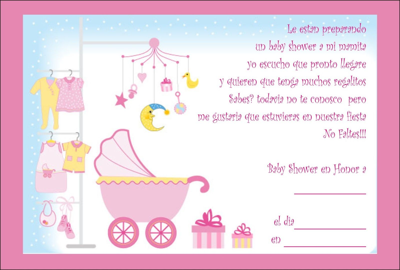 Looking For Invitaciones Para Baby Shower? Take A Look At Collection Videos  And Picture Of Invitaciones Para Baby Shower That We Collect From Various  Source ...