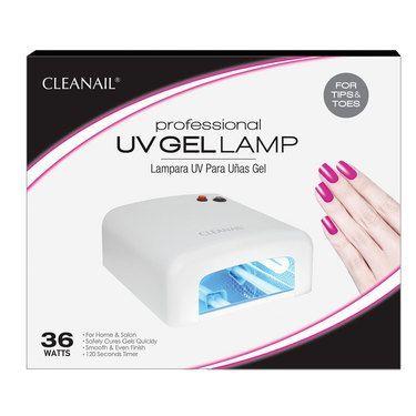 Cleanail Professional 36 Watt Uv Gel Nail Lamp 110v Uv Gel Nails Uv Gel Gel