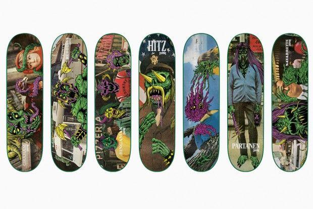 SKINNER x CREATURE Skateboards 'Creep' Deck Series