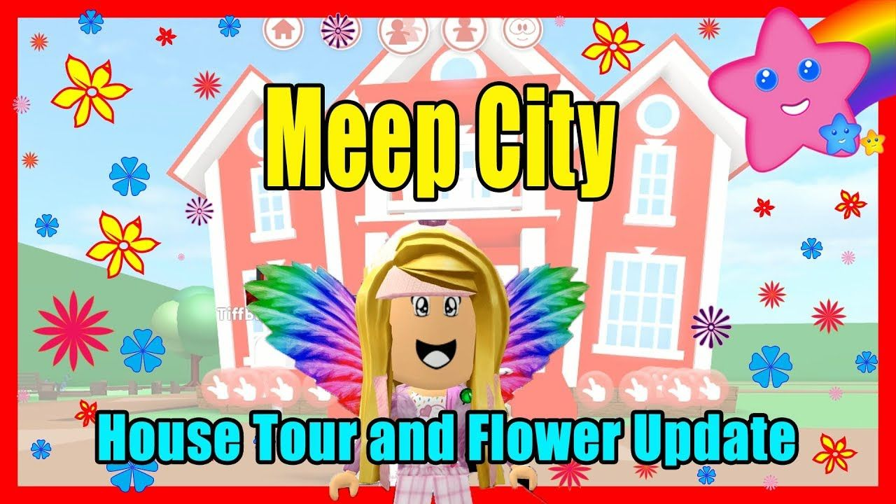 Meep City Roblox Game Background Roblox Meep City Flowers Update And New House Tour City Flowers