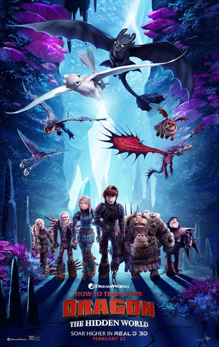 How To Train Your Dragon 3 The Hidden World New Film Poster Https Teaser Trailer Com Mov How Train Your Dragon How To Train Your Dragon How To Train Dragon