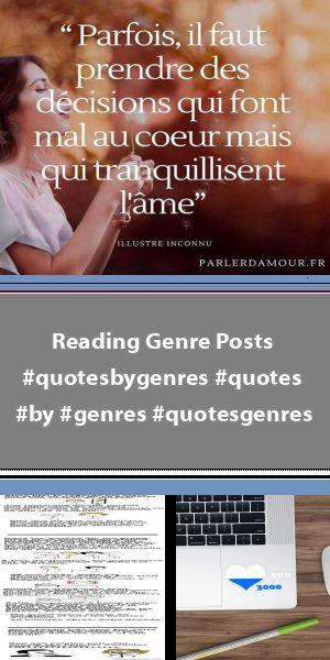 Reading Genre Posts Reading Genre Posts Reading Genre Posts Genre Posts