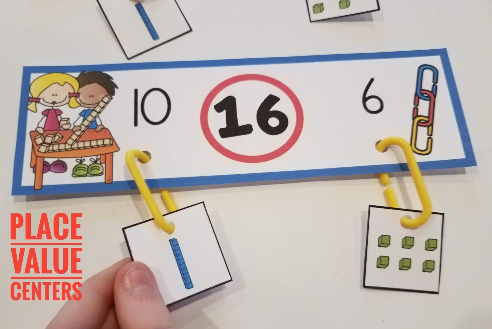 Place Value Centers For Kindergarten In