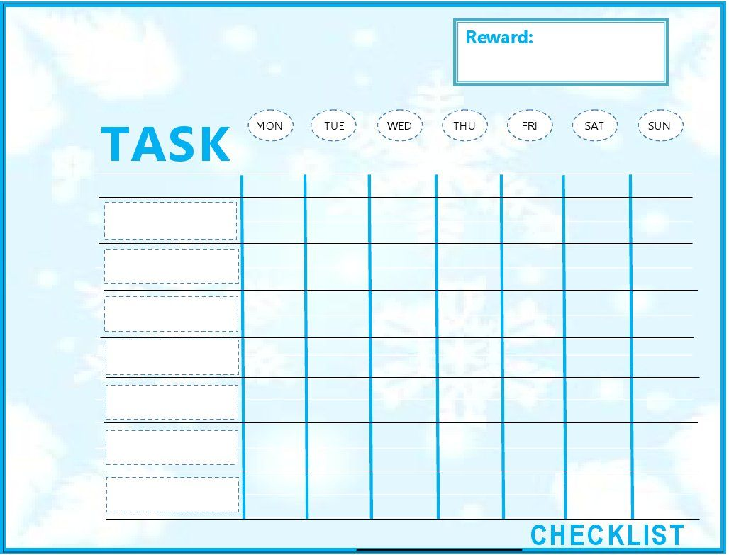 Prioritized to do list template new years resolutions for New home to do list
