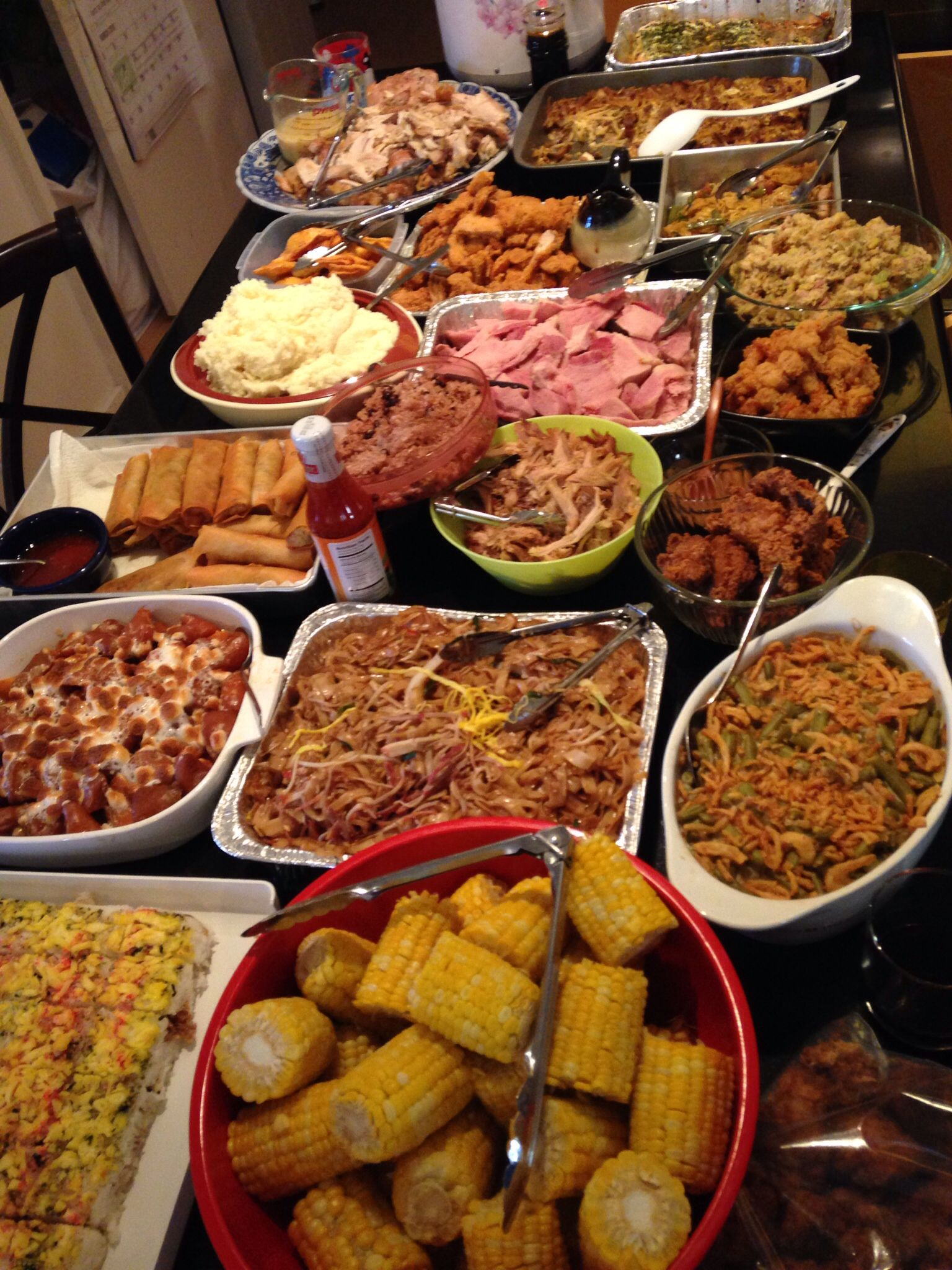 Lady of Q at Soul Fusion Kitchen : Easter Dinner- Soul ... |Soul Food Family Dinner