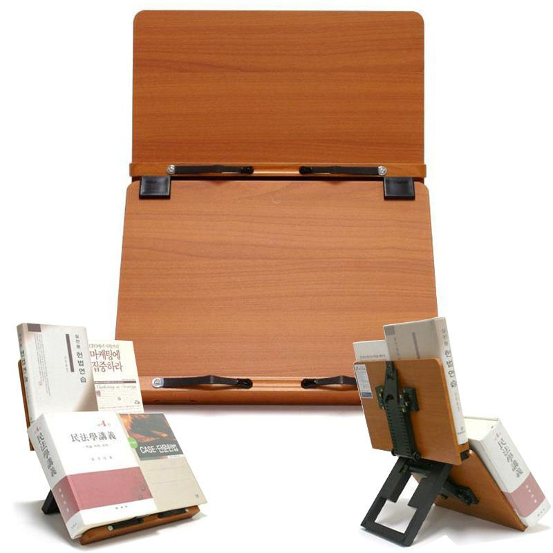 Details About Clover Plus Book Stand Bible Wooden Reading Holder Desk Bookstand Cookbook Mdf Projetos De Madeira De Madeira