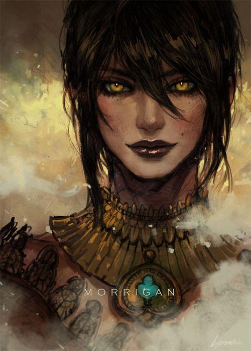 The Viper Queen [Morrigan by Aradal] | Dragon age, Dragon age ...
