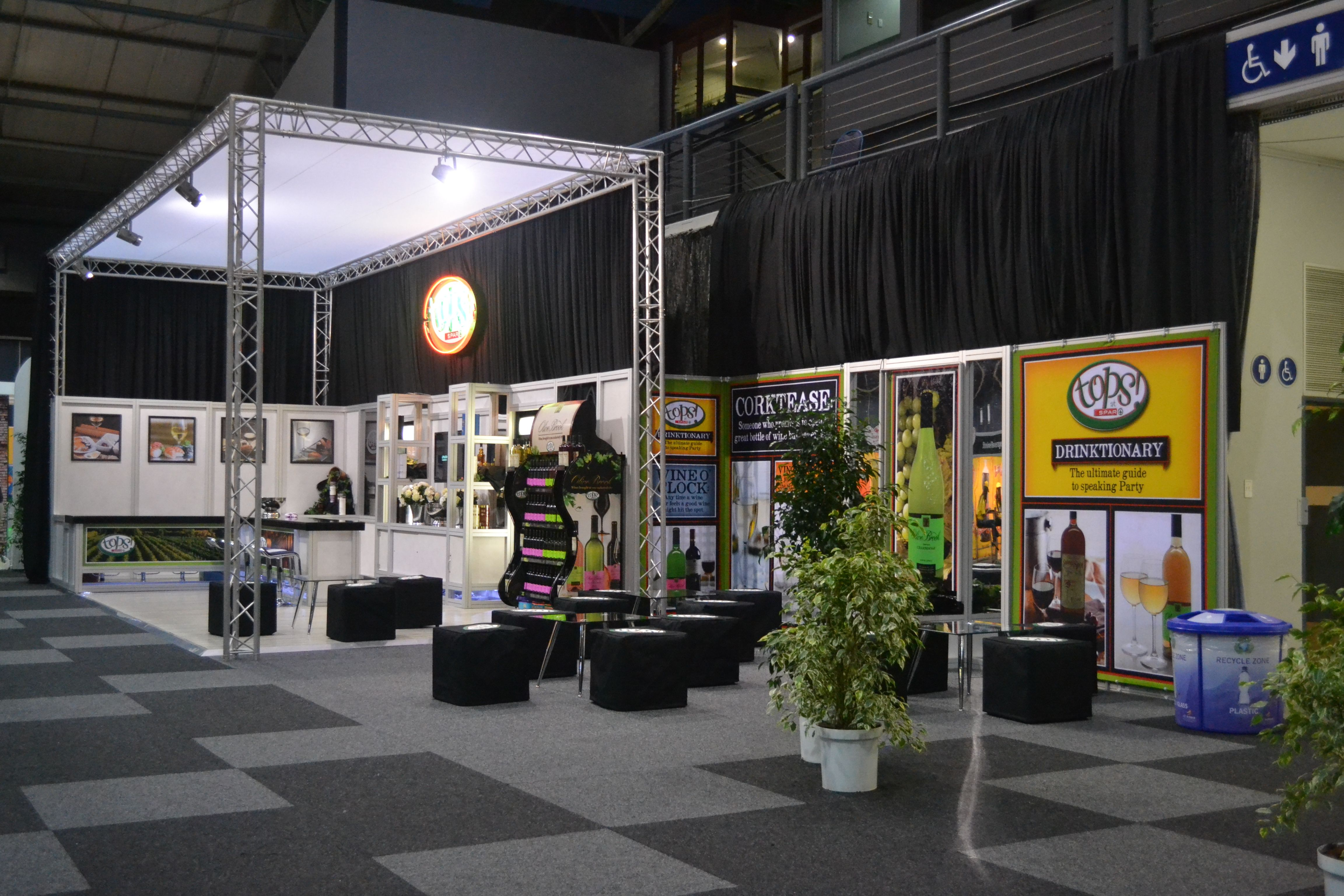 Expo Exhibition Stands Zone : Spar tops #exhibitions exhibition stands & events south africa