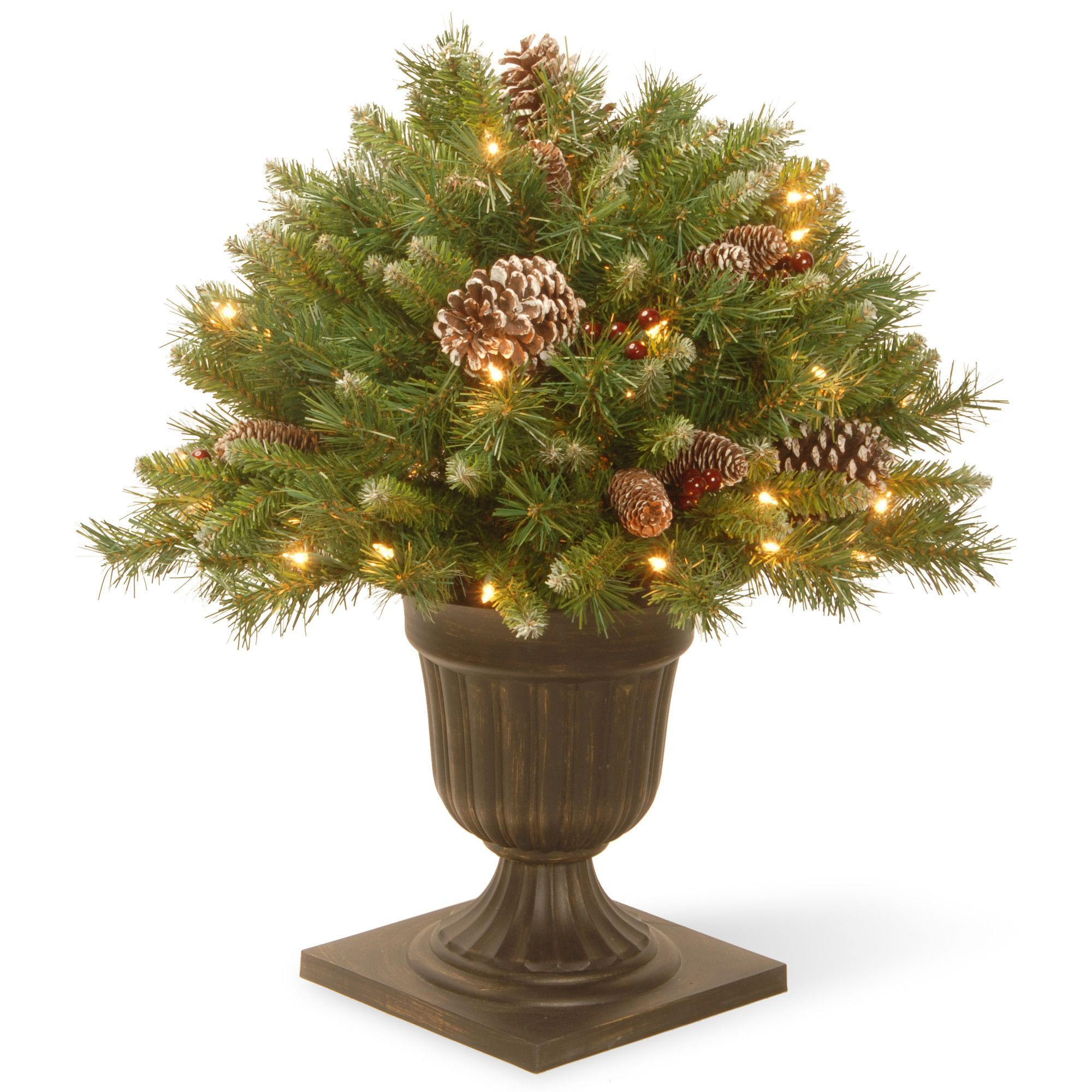 Frosted berry floor plant in urn products pinterest products