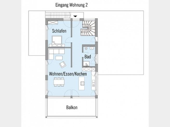 grundriss og zweifamilienhaus erstling zweiter eingang ber stahltreppe ins obergeschoss das. Black Bedroom Furniture Sets. Home Design Ideas