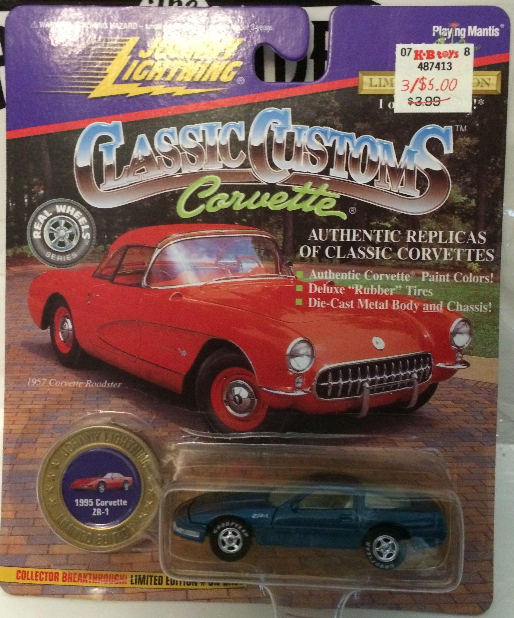 B toys cars  TAS   Johnny Lightning Classic Customs  Corvette ZR