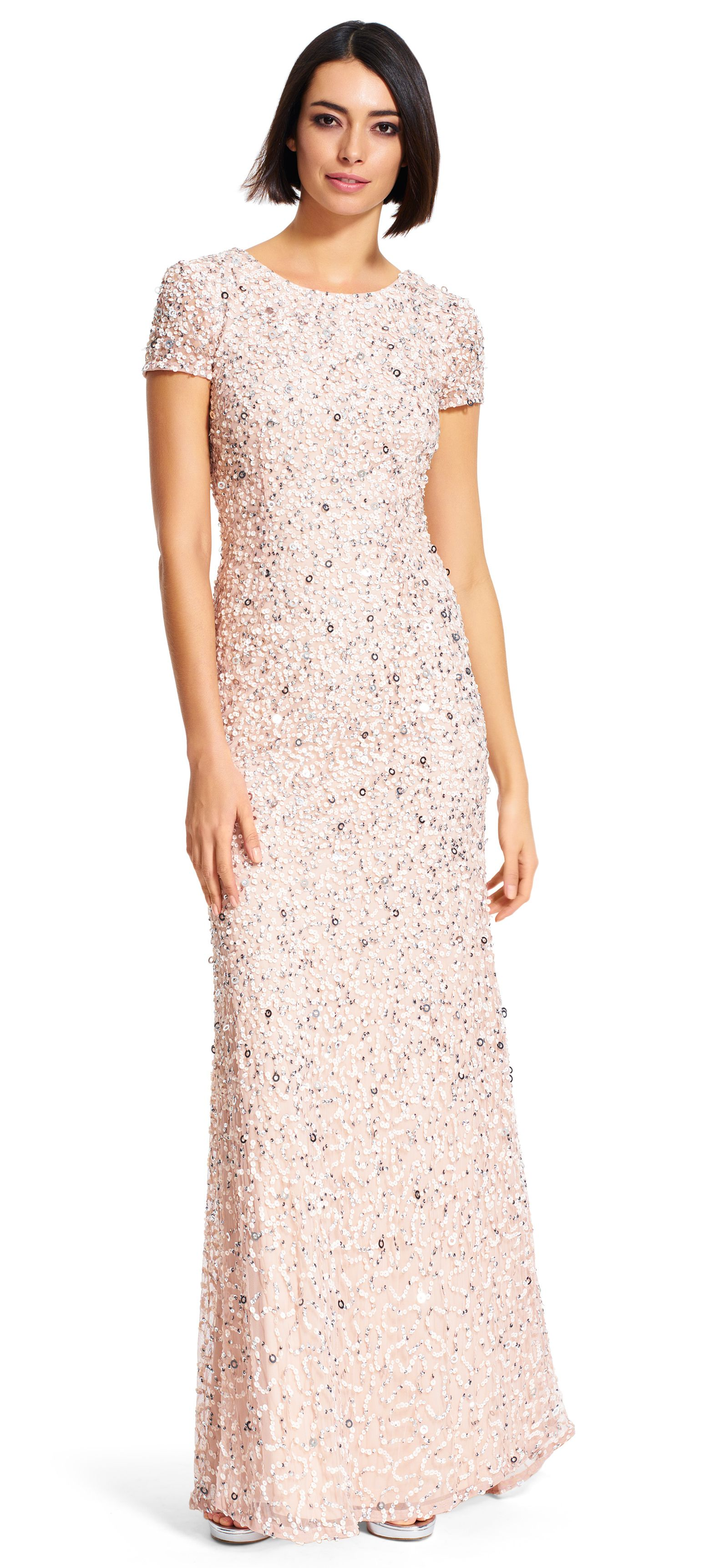 Papell cap sleeve beaded sequined gown dresses women macy s - Adrianna Papell Style 091874600 Mob Dressesbeaded Dressesbridesmaid Dressessequin Gownadrianna Papellmother Of The Bridevowscap Sleeveszippers