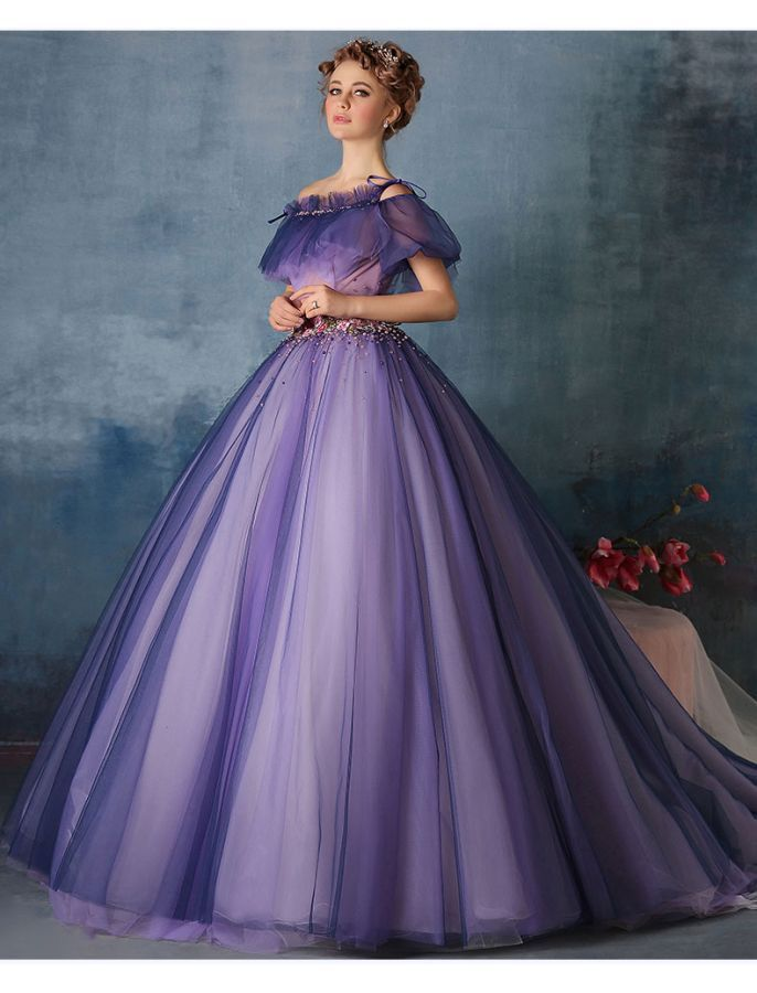 c5eec091bc5 pretty skirts and dresses. Off Shoulder Vintage Style Princess Ball Gown
