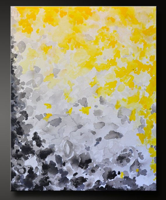 Sunshine and Shadows - 30 x 24 - Abstract Acrylic Painting ...