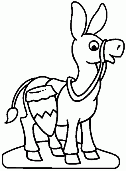 Los Tres Burros Cuentos Con Moraleja Encuentos Imagenes Infantiles Para Pintar Animales Para Pintar Fichas De Animales