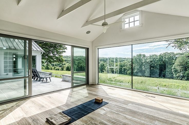 Circa 1700 by Blansfield Builders - yoga room. needs more windows