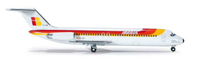 1/500 Herpa Iberia Douglas DC-9-30