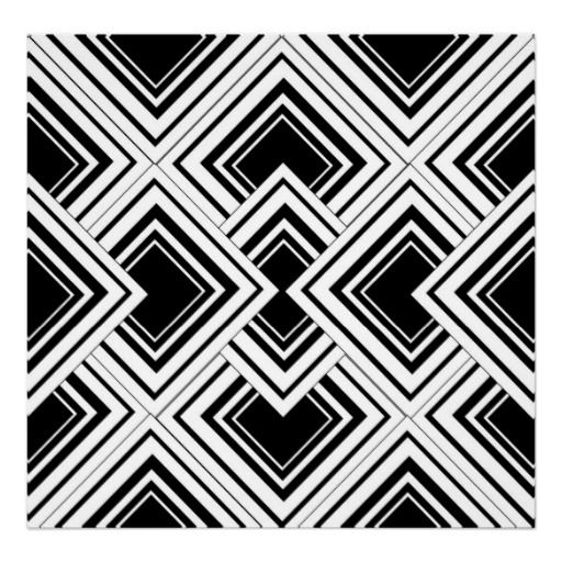 Wednesday Inspirations Black And White Pattern Art Black And