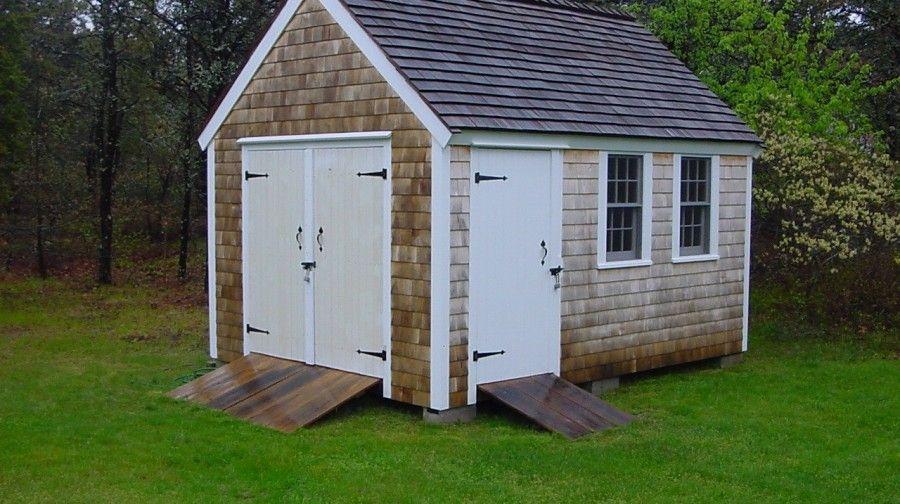 10x14 Cape Codder Backyard Storage Sheds Wood Shed Plans Free Shed Plans