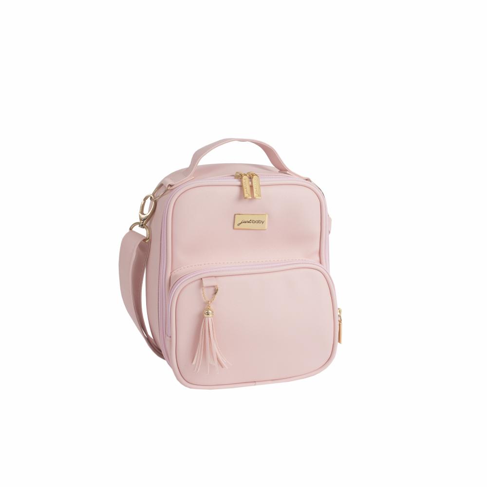 895e1a9415 Lancheira rosa quartz da linha Milão Slim da Just Baby