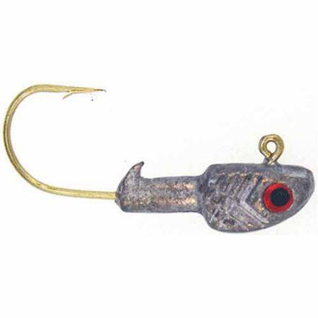 Bass Assassin Crappie Jighead Lure, 6-Count, Red