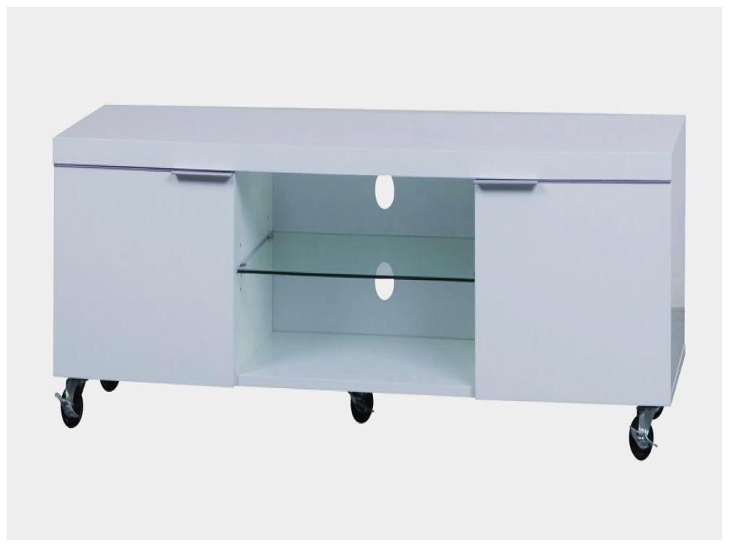 meuble tv blanc a roulettes meuble tv