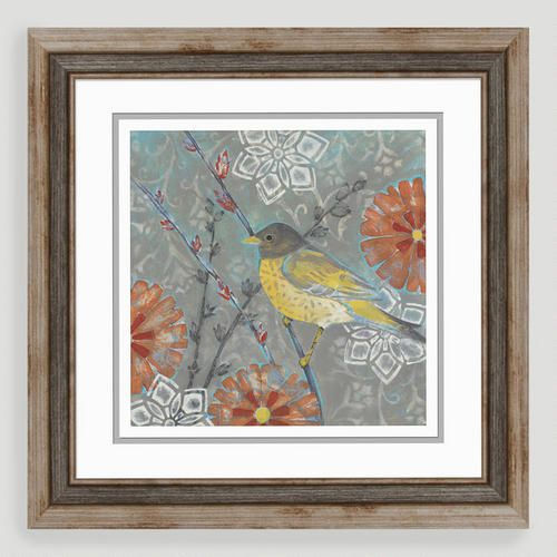 Featuring a wren perched on a branch our colorful little wren i wall art makes a decorative addition to the bedroom or office