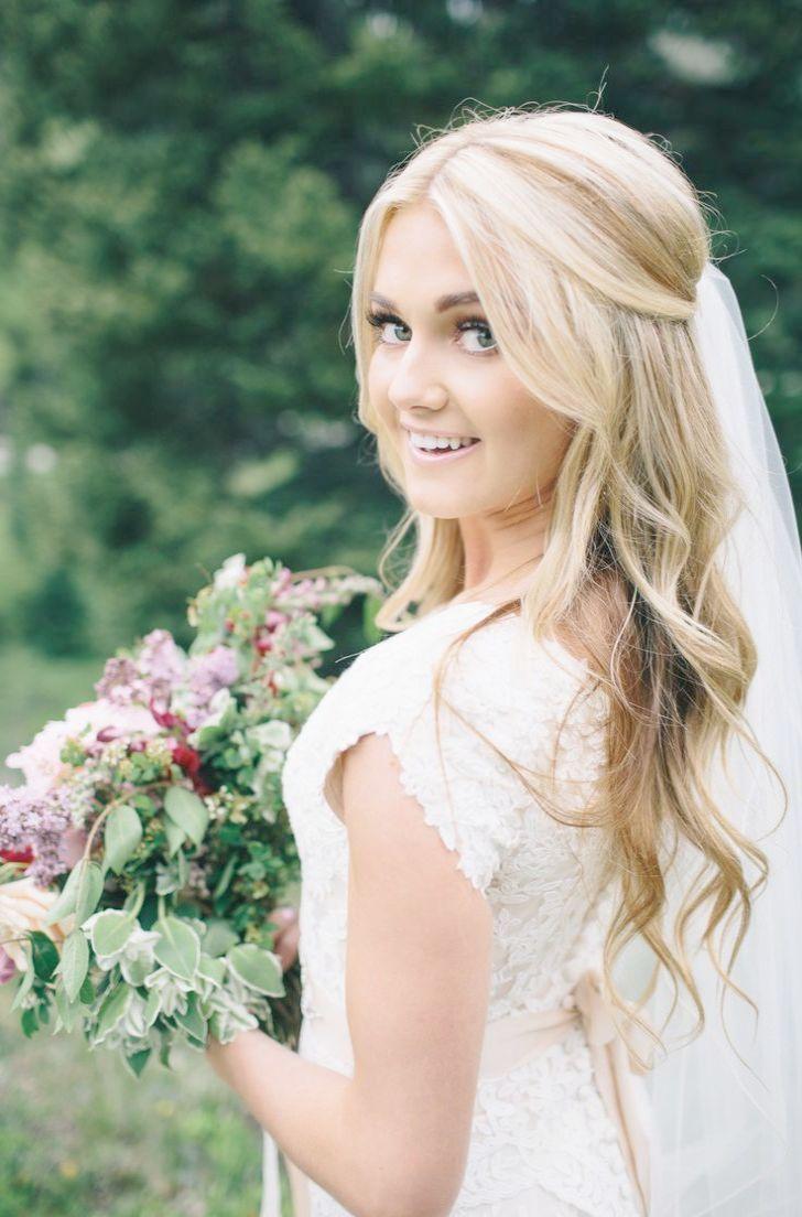 Elegant wedding hairstyles for medium length hair simple updo