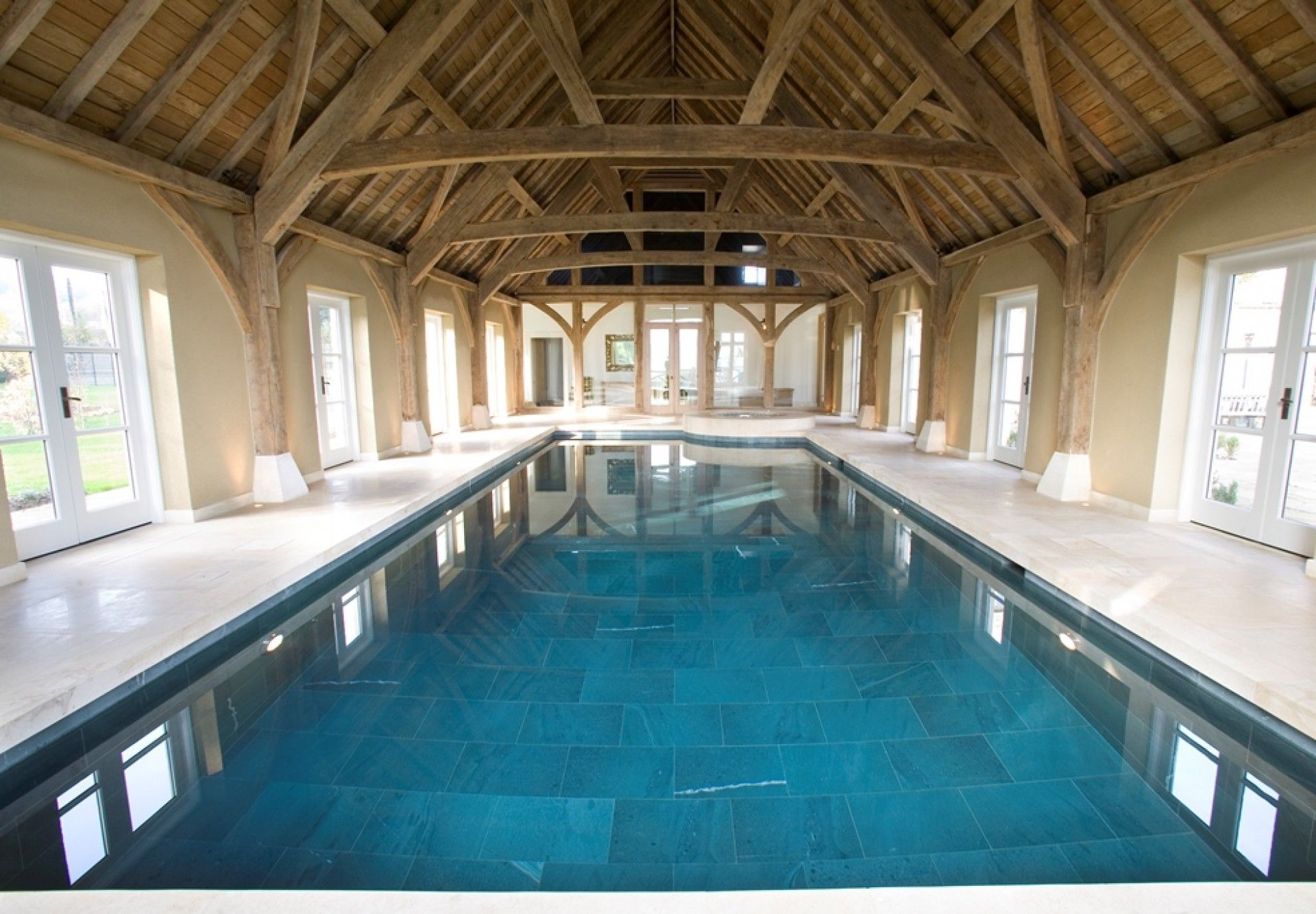 another barn converted into an amazing swimming pool