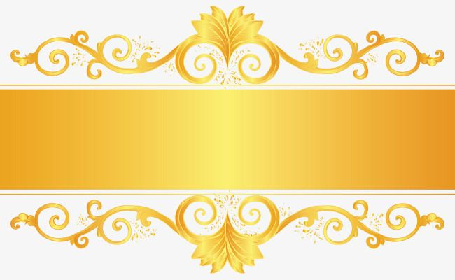Golden Ornate Frame Frame Border Design Poster Background Design Ornate Frame